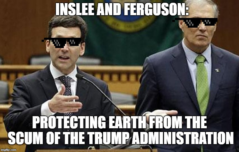 Jay Inslee And Bob Ferguson Are The Real Mib Against The