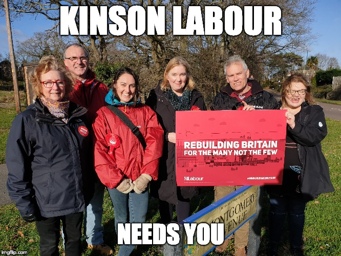 KINSON LABOUR NEEDS YOU | image tagged in labour party | made w/ Imgflip meme maker