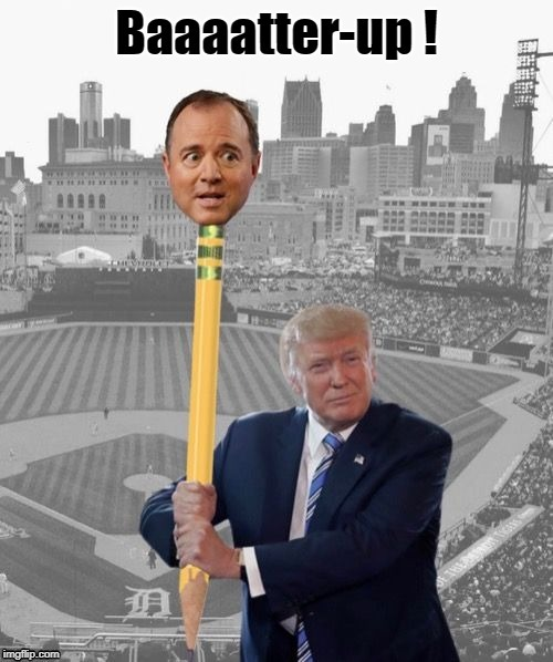 Image result for schiff pencil neck memes