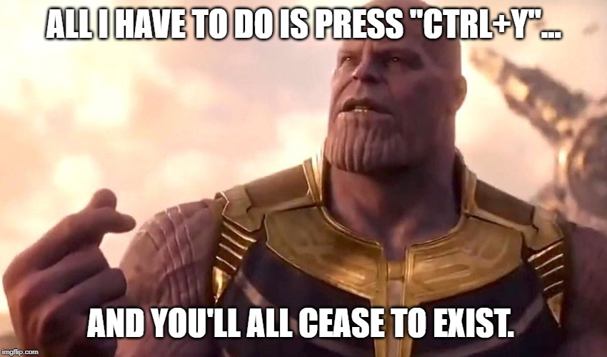 "Baldur's Gate cheats are fun | ALL I HAVE TO DO IS PRESS ""CTRL+Y""... AND YOU'LL ALL CEASE TO EXIST. 