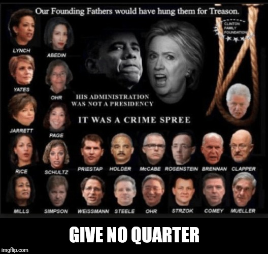 Swamp Scum | GIVE NO QUARTER | image tagged in new | made w/ Imgflip meme maker