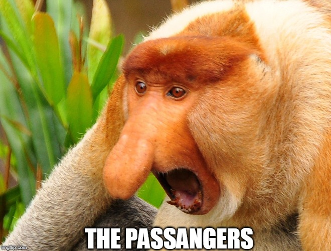 THE PASSANGERS | image tagged in nosacz | made w/ Imgflip meme maker