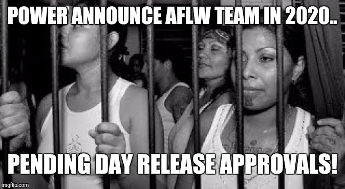 POWER ANNOUNCE AFLW TEAM IN 2020.. PENDING DAY RELEASE APPROVALS! | image tagged in port adelaide,power,pafc,afl,aflw | made w/ Imgflip meme maker