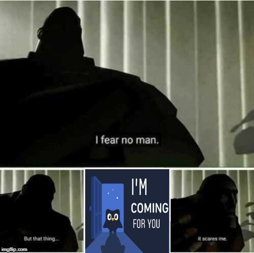 I fear no language | image tagged in i fear no man,bird,death stare owl | made w/ Imgflip meme maker