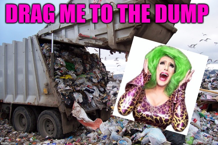 TLC Mashup Shows | DRAG ME TO THE DUMP | image tagged in garbage dump,tlc,drag queens,hoarding,spring cleaning,humor | made w/ Imgflip meme maker