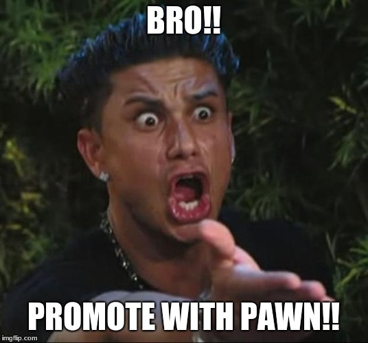 DJ Pauly D | BRO!! PROMOTE WITH PAWN!! | image tagged in memes,dj pauly d | made w/ Imgflip meme maker