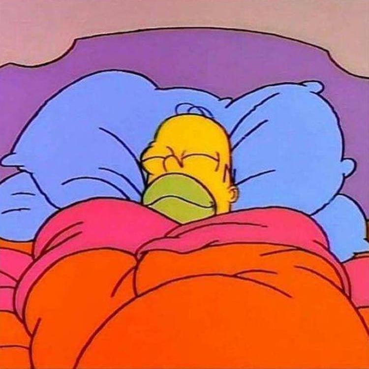 картинка спящего гомера этого фасон