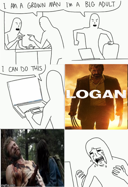 So This is What it Feels Like | image tagged in i'm a grown man i am a big adult i can do this,wolverine,memes,superheroes,marvel,x-men | made w/ Imgflip meme maker