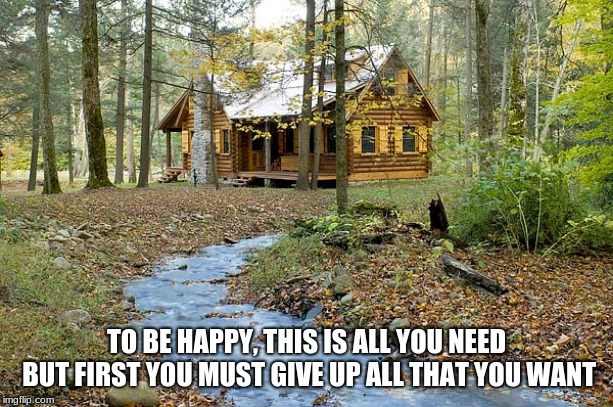 """be on guard against every form of greed; life is not in possessions"" 