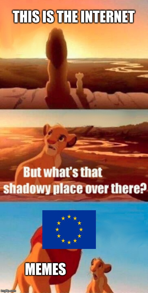 Simba Shadowy Place Meme | THIS IS THE INTERNET MEMES | image tagged in memes,simba shadowy place | made w/ Imgflip meme maker