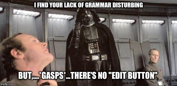 "Twitter has no ""edit button"" 