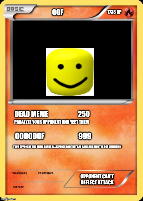 blank pokemon card memes imgflip