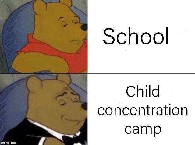 What School Really Is | image tagged in repost,school,funny,dank | made w/ Imgflip meme maker