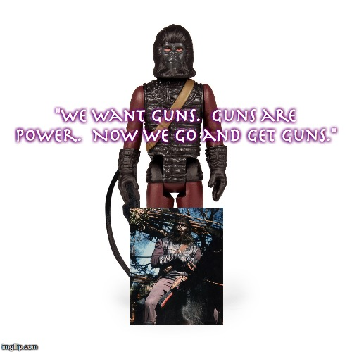 "Aldo 2 | ""We want guns.  Guns are power.  Now we go and get guns."" 