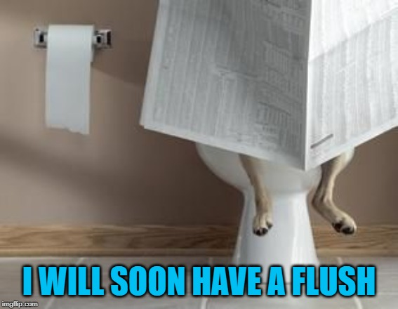 I WILL SOON HAVE A FLUSH | made w/ Imgflip meme maker