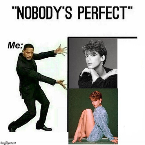 Will Smith nobody's perfect template | image tagged in will smith nobodys perfect template | made w/ Imgflip meme maker