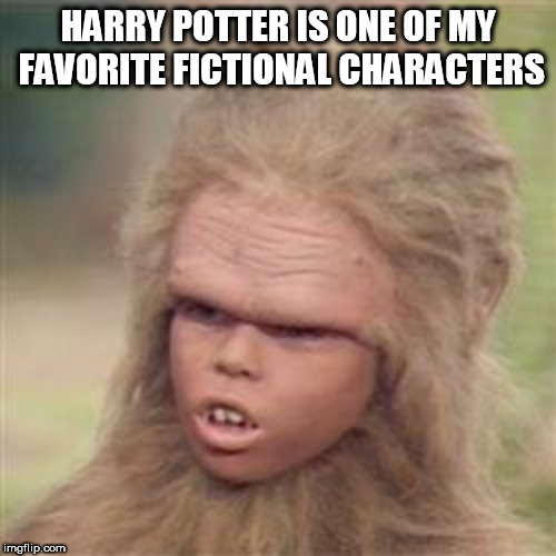HARRY POTTER IS ONE OF MY FAVORITE FICTIONAL CHARACTERS | image tagged in chaka | made w/ Imgflip meme maker