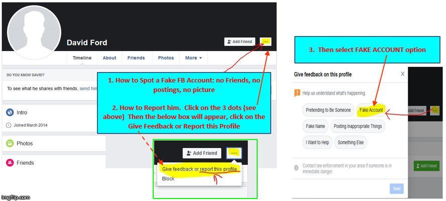 politics fake accounts facebook Memes & GIFs - Imgflip