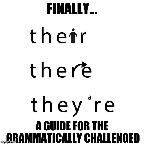 1.person, 2.direction, 3.contraction.  They're ya go! (sic) |  FINALLY... A GUIDE FOR THE GRAMMATICALLY CHALLENGED | image tagged in grammar,funny,memes | made w/ Imgflip meme maker