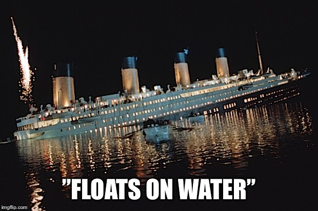 """FLOATS ON WATER"" 
