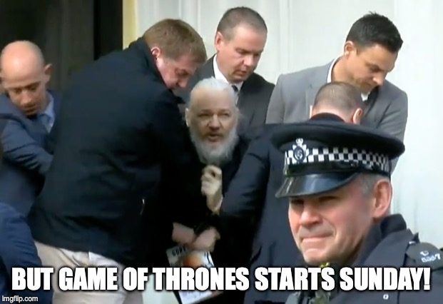 BUT GAME OF THRONES STARTS SUNDAY! | image tagged in memes | made w/ Imgflip meme maker