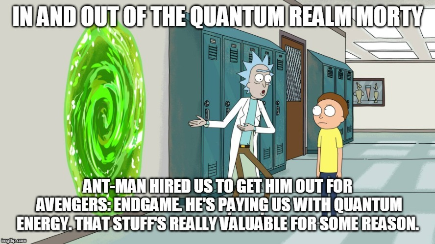 In and Out Morty | image tagged in memes,rick and morty | made w/ Imgflip meme maker