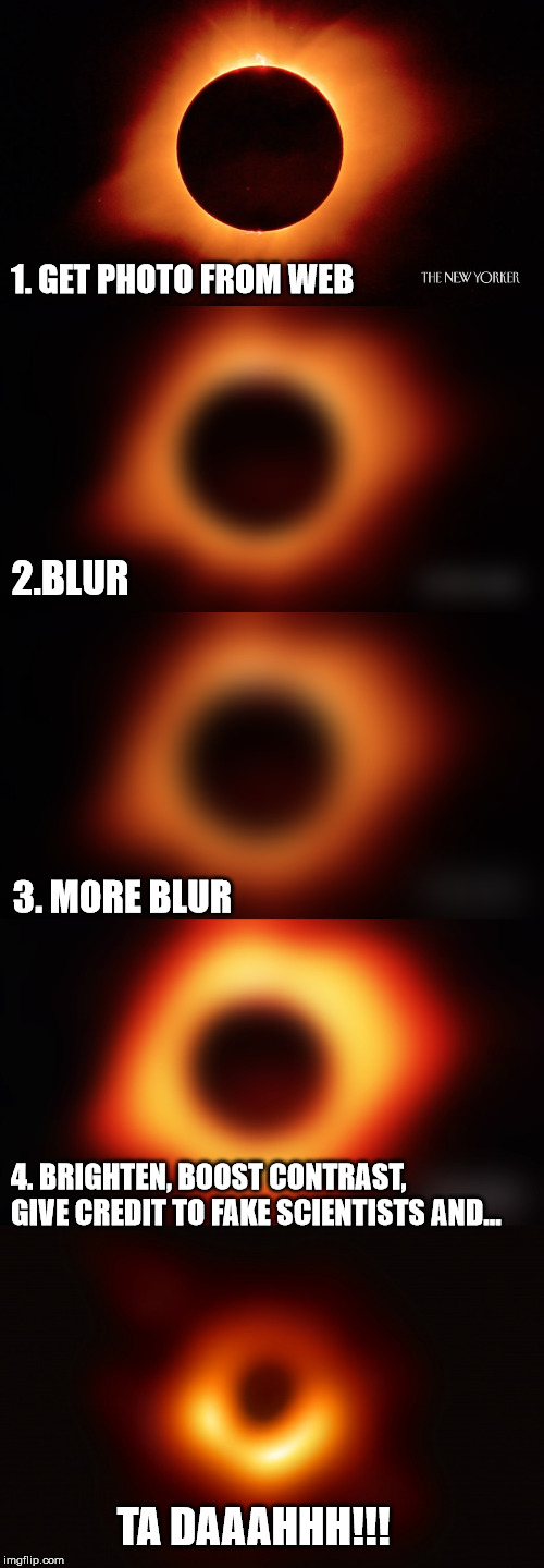 "How to make a ""Black Hole""...and Become ""God"". 