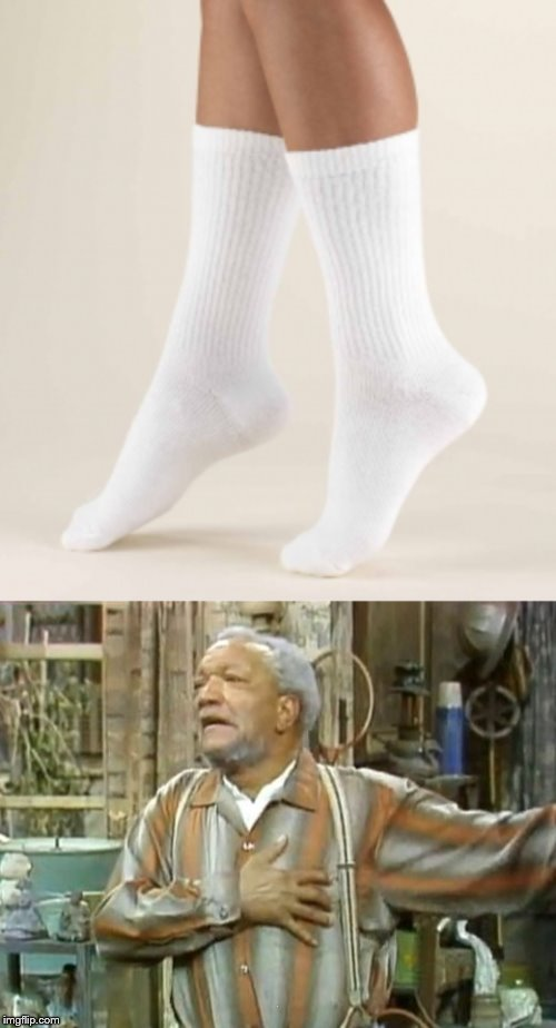 . | image tagged in fred sanford heart attack | made w/ Imgflip meme maker