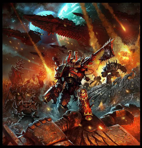 Chaos Space Marine Attack Meme Generator - Imgflip
