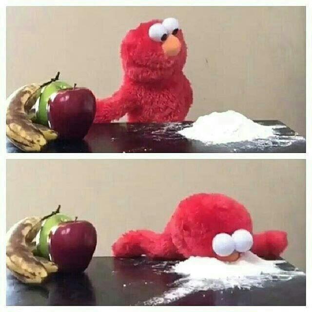 Elmo Eats Sugar Blank Template Imgflip