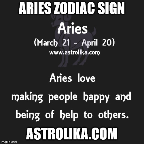Image tagged in aries zodiac sign - astrolikacom - Imgflip