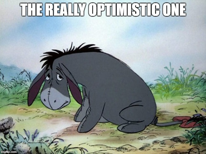 THE REALLY OPTIMISTIC ONE | made w/ Imgflip meme maker