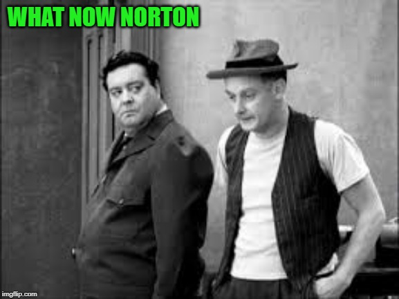 WHAT NOW NORTON | made w/ Imgflip meme maker