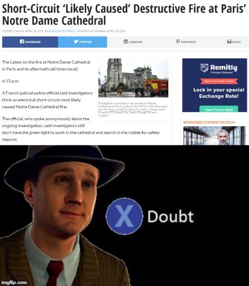 image tagged in notre dame,dank memes,paris,doubt | made w/ Imgflip meme maker