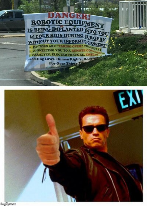 yxd_terminator thumbs up Memes GIFs - Imgflip