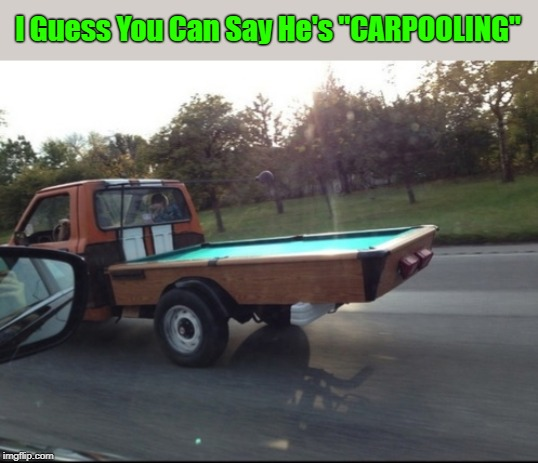 """Pool On Wheels"" ""Pun Weekend"" (19th-21st) A Triumph_9 & Craziness_all_the_way event 