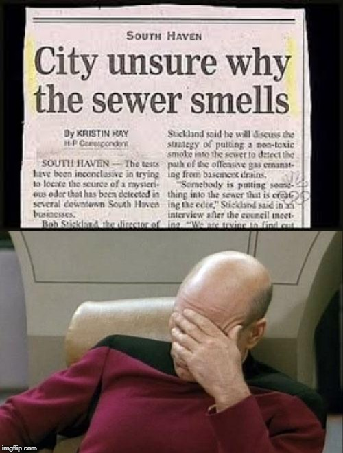 Ooh that Smell......Can't You Smell That Smell...... | image tagged in memes,captain picard facepalm | made w/ Imgflip meme maker