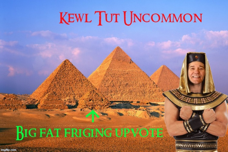 kewl tut uncommon | image tagged in kewlew,upvoter | made w/ Imgflip meme maker