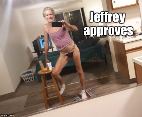 Jeffrey approves | made w/ Imgflip meme maker