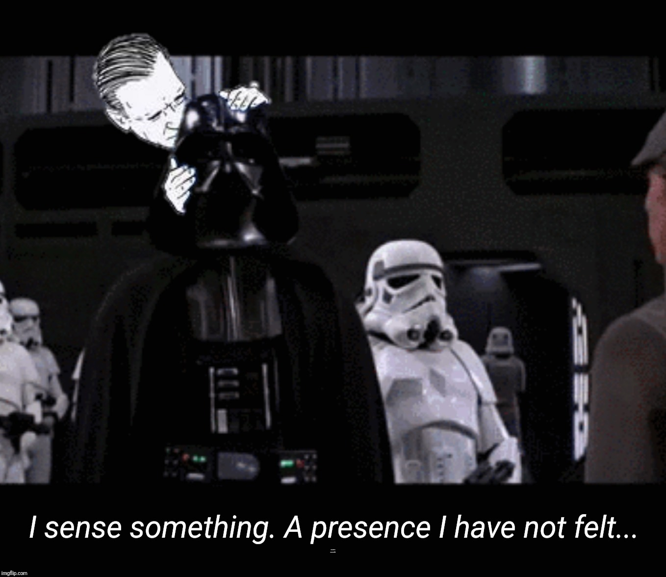 Sniff Sniff | I sense something. A presence I have not felt... | image tagged in memes,politics,joe biden,darth vader,bernie sanders | made w/ Imgflip meme maker