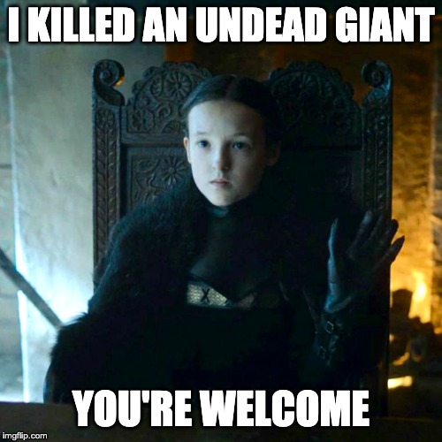 25 Best Memes About Mormont: Image Tagged In Lyanna Mormont