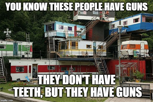 "In a stream, Octavia_melody asked ""How would you know a home had guns?""  THis was my answer to him. 