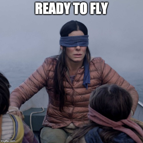 Bird Box Meme | READY TO FLY | image tagged in memes,bird box | made w/ Imgflip meme maker