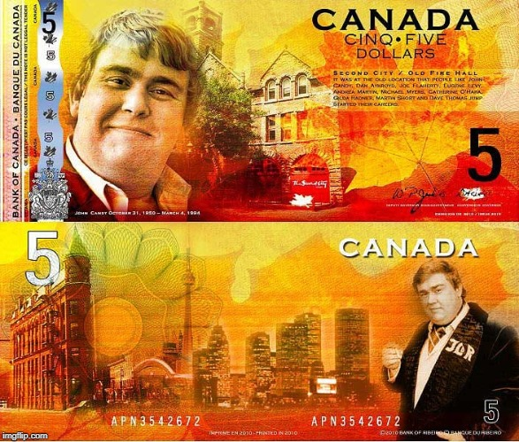 Canada's Newest Currency | image tagged in canada,currency,candy | made w/ Imgflip meme maker