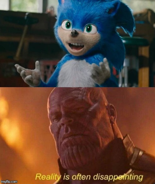 New Sonic The Hedgehog Movie Imgflip