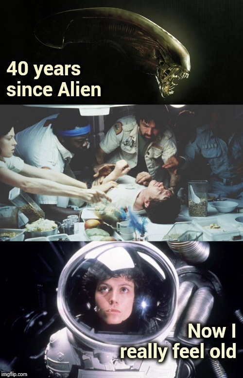 """In space no one can hear you scream"" 