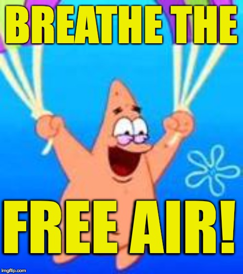 "When you've tried boxers but you're still not free enough  ( :  ""Spongebob Week"" April 29th to May 5th an EGOS production 