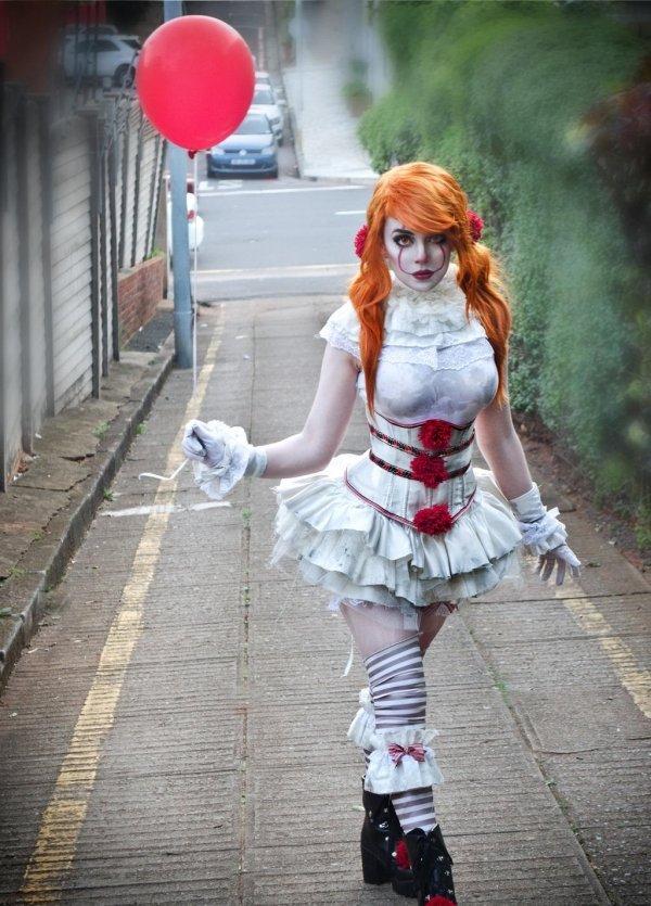 Image result for female clown meme