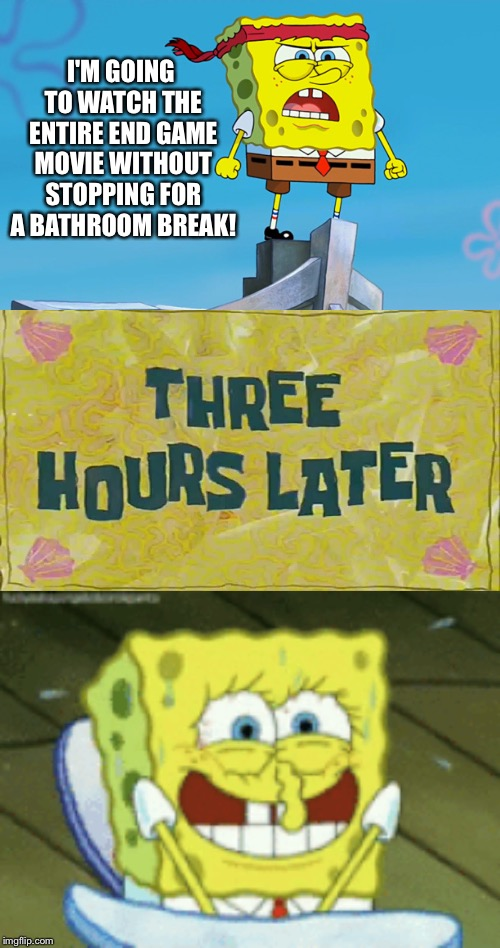 "Spongebob Week"" April 29th to May 5th an EGOS production 