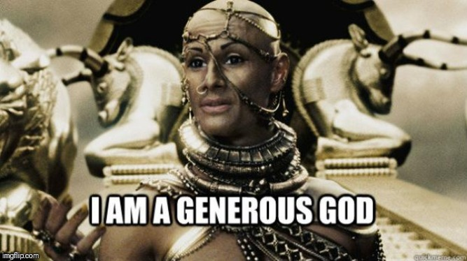 When I give the person behind me my gift card with a 38 cent balance.